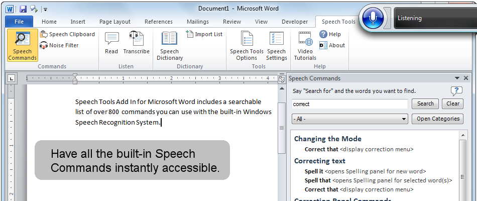 dual writer software for speech recognition