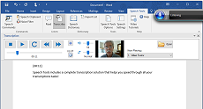 Microsoft Word Transcription with Speech Tools